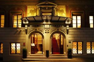 Hotel Luzern - Hotel des Balances - Am Abend