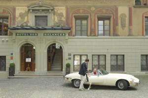 Hotel Luzern - Hotel des Balances - Eingang