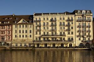 Hotel Luzern - Hotel des Balances - Fassade